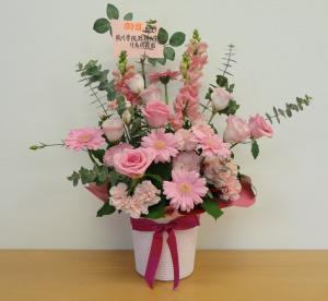 6周年お花